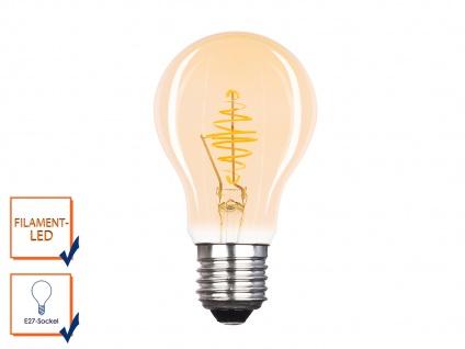 FILAMENT LED Leuchtmittel A60 mit 3 Watt, 150 Lumen, 2000 Kelvin, E27-Sockel