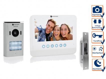Videosprechanlage 1Einfamilienhaus mit Kamera und Türöffner Haustürklingelanlage