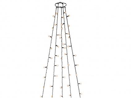 Lichterkette Innen 150 bernsteinfarbene LEDs & Timer Weihnachtsbaum Beleuchtung - Vorschau 2