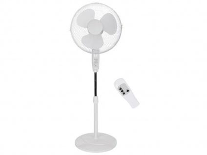 Standventilator mit Fernbedienung & Timer Oszillierend - Zimmerventilator Lüfter