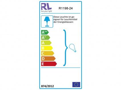 LED Kronleuchter 5 flammig aus rostfarbigem Metall für hohe Räume Esstischlampe - Vorschau 4