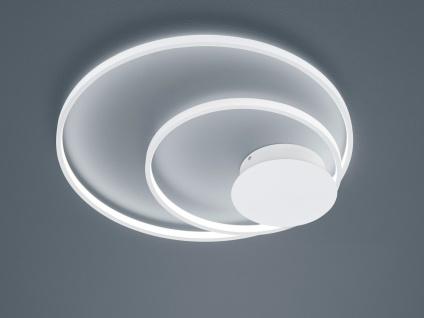 Coole große LED Ringleuchte Deckenlampe für Jugendzimmer ringförmig verspielt