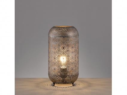 Ausgefallene LED Design Tischleuchte Nachttischlampe Lampenschirm orientalisch