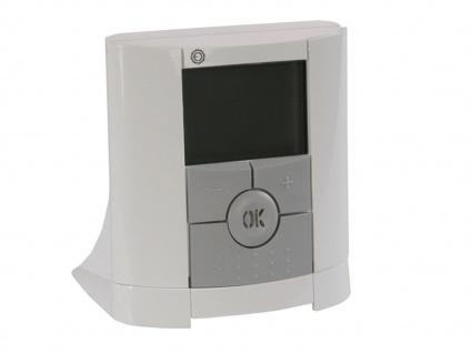 Vitalheizung Set: Thermostat / Funk Raumthermostat, Empfänger, Fußbodenfühler - Vorschau 3