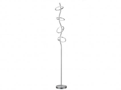 Trio LED Stehleuchte OLYMPUS dimmbar, Ringe beweglich, Stehlampe Wohnraum