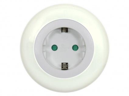 LED-Nachtlicht/Orientierungslicht 0, 5W, Steckdose & Dämmerungssensor