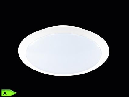 TRIO LED-Deckenlampe, ink. 9W SMD-LED, 500Lm, Ø 30cm, weiß