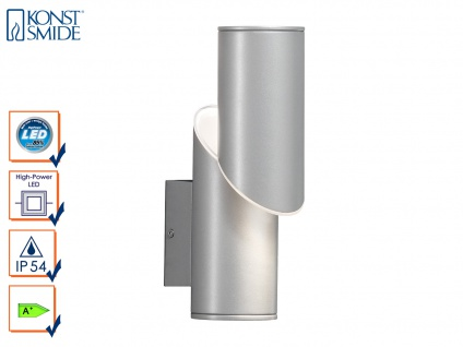 Wandleuchte IMOLA, 9 Watt HP-LED, IP54, Höhe 18 cm Außenwandleuchte