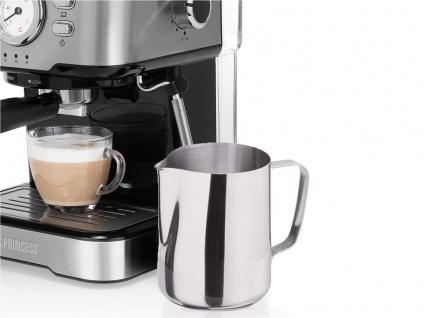 Siebträger Espresso & Kapselmaschine mit Milchaufschäumer für 1 oder 2 Tassen - Vorschau 4