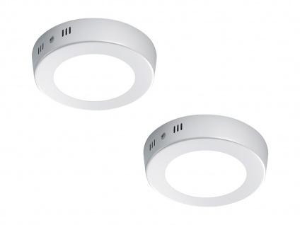 Deckenleuchte Deckenlampe Deckenbeleuchtung CENTO 2er Set Ø 12 cm Trio