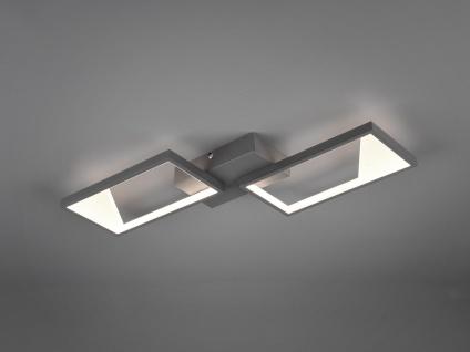 Zweiflammige LED Deckenlampe Esszimmerleuchte für Esstisch Küchentisch eckig