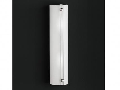 Moderne Wandleuchte FILO in Nickel matt inkl. Schalter Honsel-Leuchten