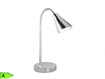 LED-Tischlampe Nickel, ink. 1 x 4, 2W SMD-LED, Flexarm Trio-Leuchten