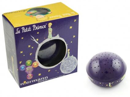 2er Set LED Nachtlicht Baby, projiziert Sterne ins Kinderzimmer Schlummerlampe - Vorschau 2
