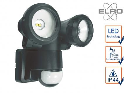 2-fl. LED Sicherheitsleuchte mit 12 Meter Bewegungsmelder 10W Wandleuchte außen