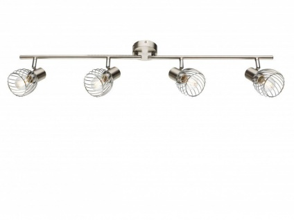 Design Deckenleuchte Deckenstrahler 4 flammig schwenkbar, Deckenlampe Wohnraum - Vorschau 2