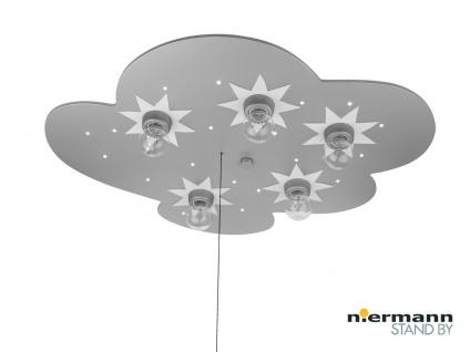 Kinderlampe Titan Zugschalter für LED-Schlummerlicht Kinder Deckenleuchte Wolke