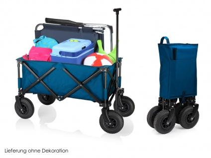 Faltbarer Klappbollerwagen mit Luftreifen für Kinder klappbarer Faltbollerwagen - Vorschau 1