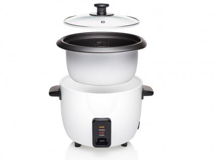Elektrischer Reiskocher Reisgarer Dampfgarer 0, 6 Liter 300Watt Warmhaltefunktion - Vorschau 3