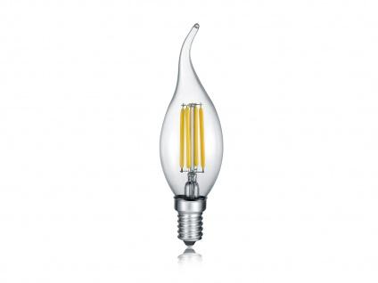 Windstoßkerzenförmiges LED E14 Leuchtmittel, 4 Stufen Switch Dimmer, warmweiß 4W - Vorschau 2
