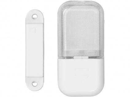 4er SET LED Schubladenleuchten (batteriebetrieben) mit Magnetschalter - Vorschau 3