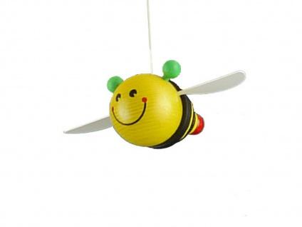 Kinderdeckenlampe Sonne & Bienen bruchsicher Deckenleuchte für Kinderzimmer rund - Vorschau 3