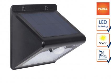 LED Solar Wandaußenleuchte mit Bewegungsmelder, Wandlampen für den Außenbereich