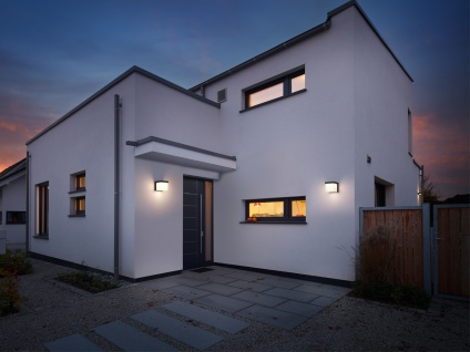 LED Außenwandleuchte, Terrassenbeleuchtung Wand, Design Würfel, Außenleuchte - Vorschau 4