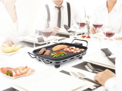 Kleiner Teppanyaki Japanischer Tischgrill mit Grillplatte Indoor Elektrogrill - Vorschau 3