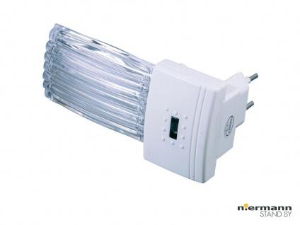 LED Nachtlicht mit Dämmerungsauotmatik, weiß Nachtlampe Kinderzimmer *NEU* - Vorschau 1