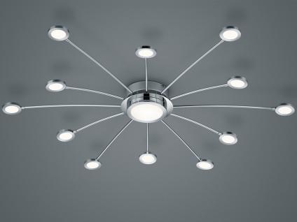 Große LED Deckenleuchte dimmbar mit Fernbedienung Farbwechsel Wohnzimmerlampen