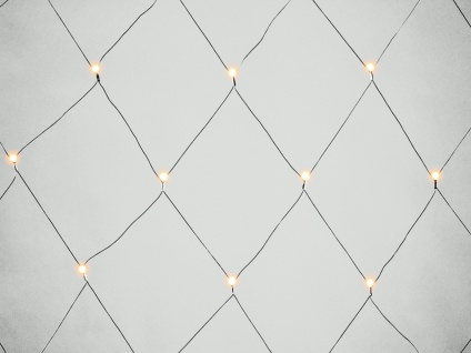 LED Lichternetz Außenbeleuchtung 80 LEDs mit Funksteckdose & Fernbedienung Deko