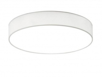 Trio LED Deckenleuchte dimmbar LUGANO 40cm Stoffschirm weiß, Wohnzimmerlampe - Vorschau 2
