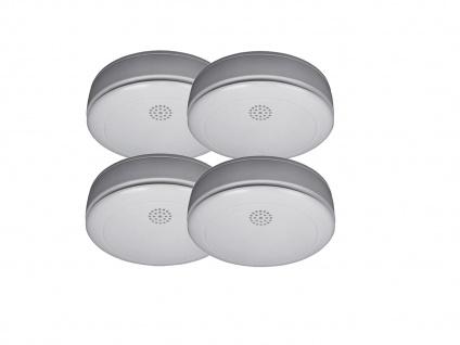 4er SET Rauchmelder 10 Jahres Batterie, VdS zertifiziert-Q-Siegel, Feuermelder - Vorschau 2