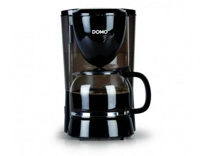 Switch on Filterkaffeemaschine mit Glaskanne für 12 Tassen & Abschaltautomatik