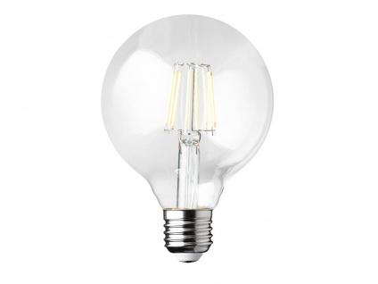 Dimmbares Filament LED E27 Leuchtmittel Vintage Klares Glas 7Watt 806Lumen 2700K