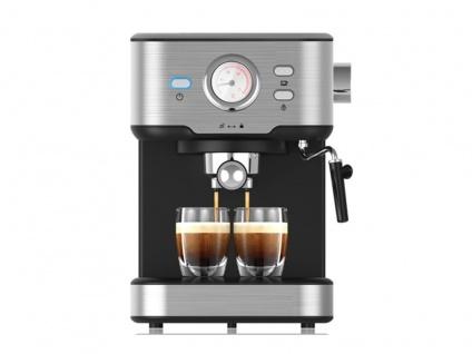 Siebträger Espresso & Kapselmaschine mit Milchaufschäumer für 1 oder 2 Tassen - Vorschau 3