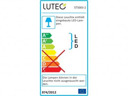 Edelstahl LED Außenwandleuchte H. 25cm IP44 Up & Downlight Fassadenbeleuchtung - Vorschau 3