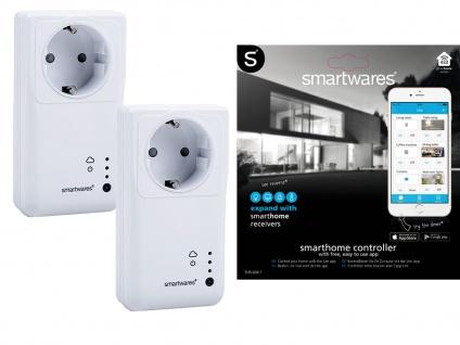 2er-Set SmartHome WLAN Funk-Steckdosen, mit App Steuerung für IOS und Android