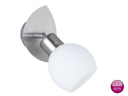 Trio LED-Wandspot, inkl. 1 x 4 Watt LED, 19 cm, Nickel matt