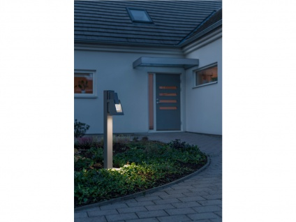 2er-Set Wegeleuchten POTENZA Sockelleuchten austauschbares LED Modul - Vorschau 3