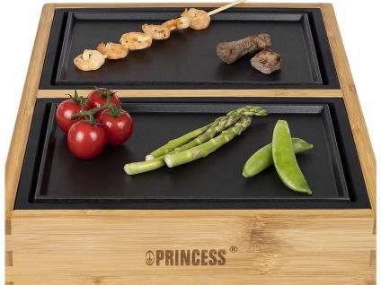 Teppanyaki Grill für 2 Personen, erweiterbar Japanischer Elektrogrill Tischgrill - Vorschau 4