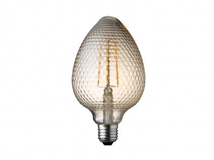 FILAMENT LED Leuchtmittel Zapfenform 4 Watt, 300 Lumen, 1800 Kelvin, E27-Sockel - Vorschau 2