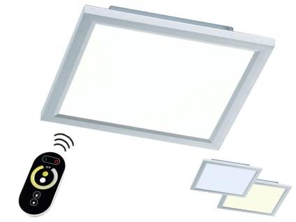 LED Deckenlampe 30cm Paneel flach mit Fernbedienung für Farbtemperatur & Dimmen