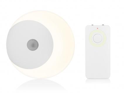 LED Nachtlicht Fernbedienung, Dimmer & Timer Batteriebetrieb -Orientierungslicht