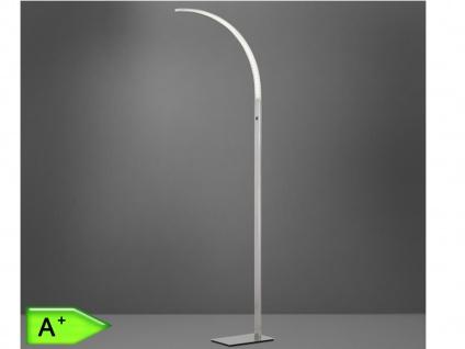 Moderne Stehleuchte LUZ in Chrom, Höhe 165 cm Wofi-Leuchten