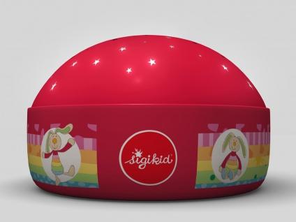 2er Set LED Nachtlicht Rainbow Rabbit Sternprojektor LED-Farbwechsler 3 Farben - Vorschau 4