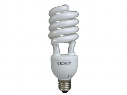 ELRO Energiesparleuchtmittel Spirale, E27-Sockel, 30W kaltweiß, 1900lm, 6400K