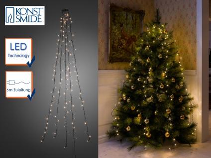 Lichterkette für Innen 200 LED´s Weihnachtsbaum Beleuchtung Christbaum Haus