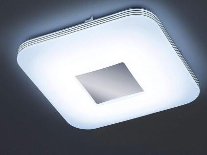 Flache LED Deckenleuchte eckig mit Fernbedienung dimmbare Esszimmerleuchten